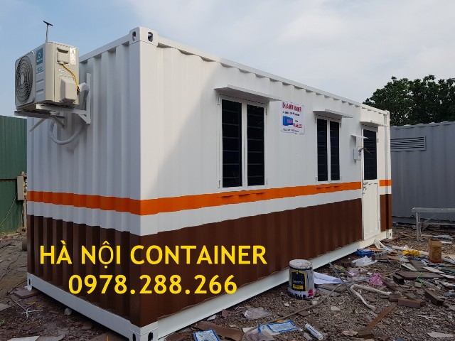 container văn phòng 20 feet tại phú thọ