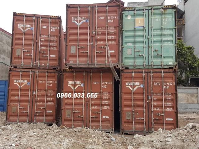 cho thuê container tại hà nội