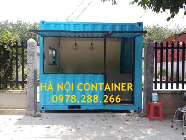 container bán hàng lưu động