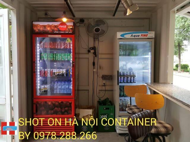 quán càfe container