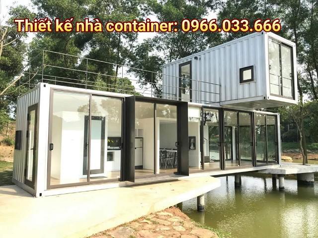 container làm nhà nghỉ