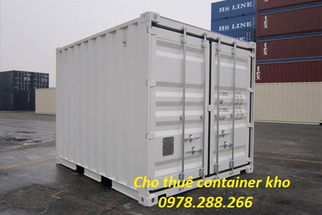 giá cho thuê container