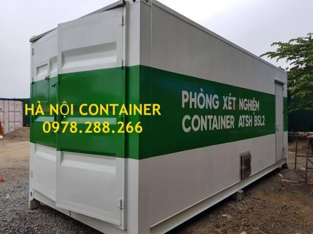 container làm phòng xét nghiệm