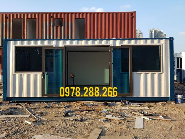container văn phòng giao dịch
