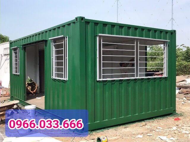 container làm văn phòng bất động sản