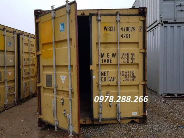cho thuê container tại việt trì, phú thọ