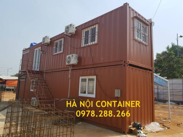 container văn phòng 2 tầng