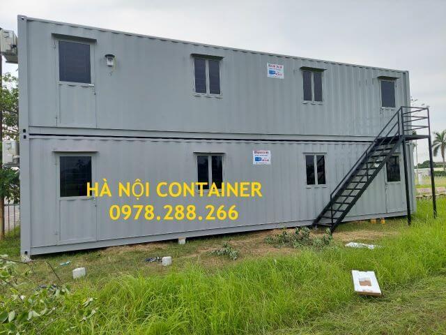 container văn phòng 40 feet chồng tầng