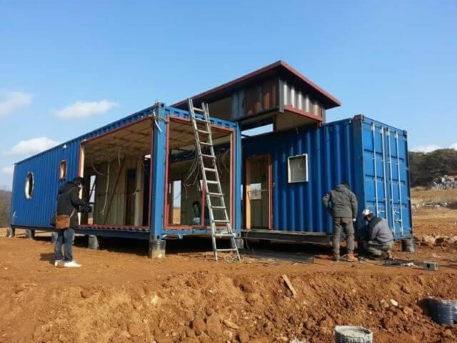 nhà container có cần xin giấy phép xây dựng không