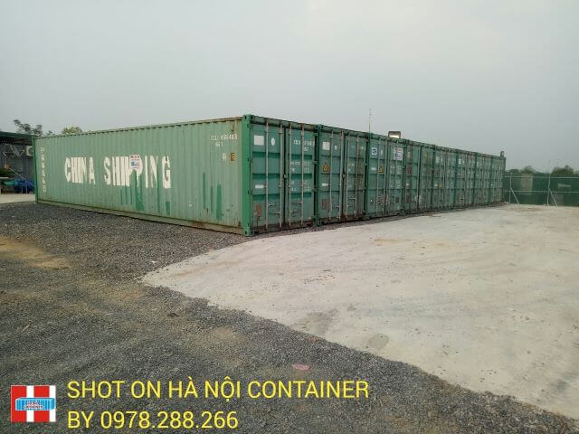 cho thuê container tại hải dương